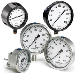 Ashcroft Pressure Gauges by Gauge Series and Function