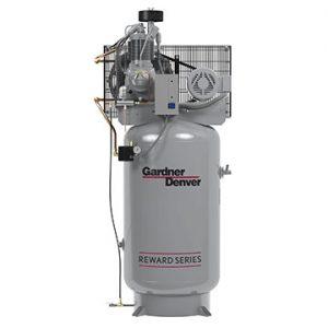Gardner Denver Compressor vertical tank