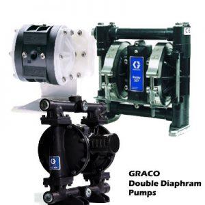 GRACO Double Diaphram Pumps