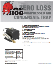 WaterHog brochure